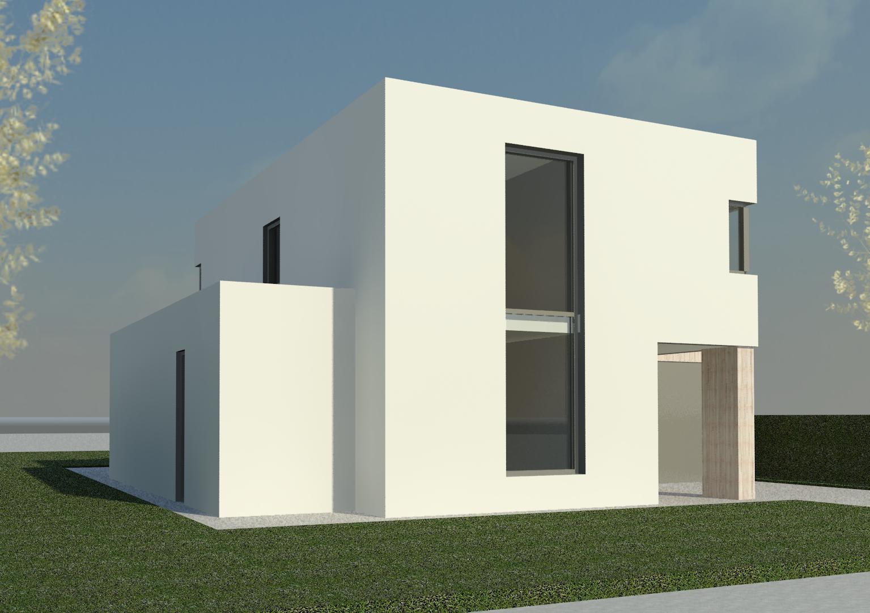Moderne woning prinsenbeek moderne woning nico dekker ontwerp bouwkunde - Moderne uitbreiding huis ...