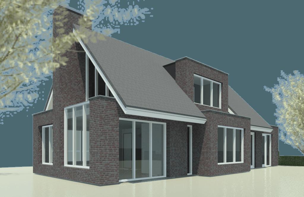 Vrijstaande bungalow helfrichlaan moderne woning nico dekker ontwerp bouwkunde - Huis in de moderne ...
