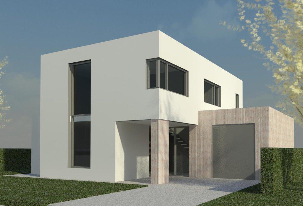 Moderne woning prinsenbeek moderne woning nico dekker ontwerp bouwkunde for Afbeelding van moderne huizen