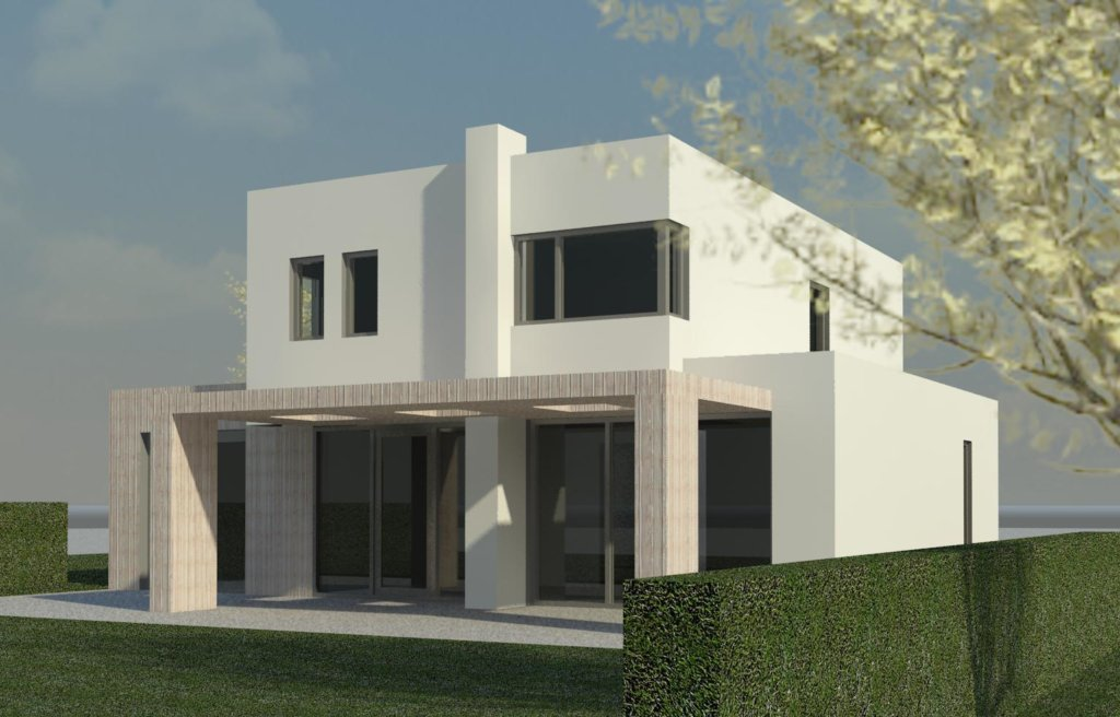 Moderne woning prinsenbeek moderne woning nico dekker ontwerp bouwkunde for Moderne huis foto