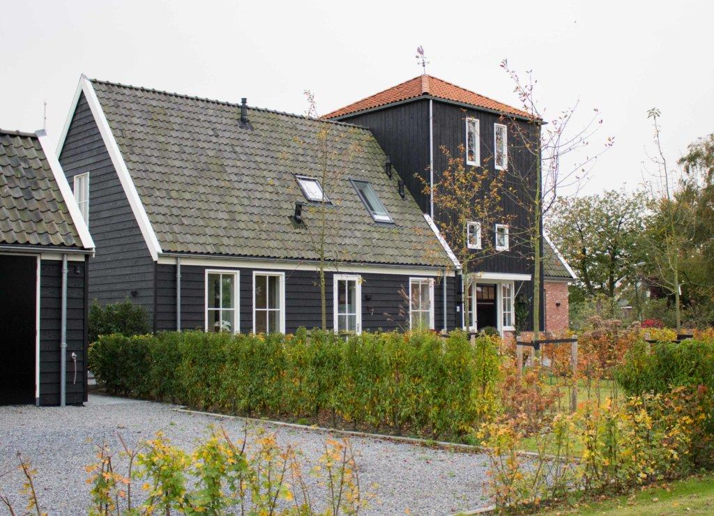 Nieuwbouw woonhuis west graftdijk kapbergwoning nico for Aannemer huis bouwen