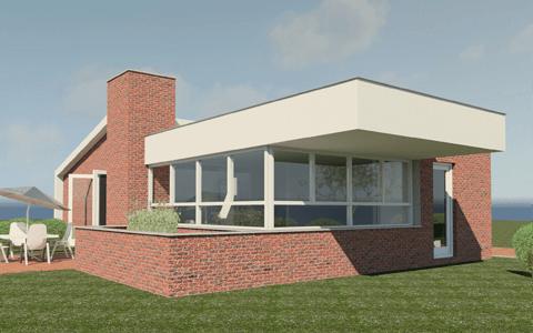 Bouwkosten platte bungalow aanbouw huis voorbeelden for Bouwkosten per m3