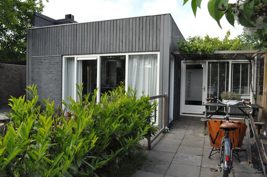 Verbouw bungalow nieuwe niedorp verbouw nico dekker ontwerp bouwkunde - Bungalow ontwerp hout ...
