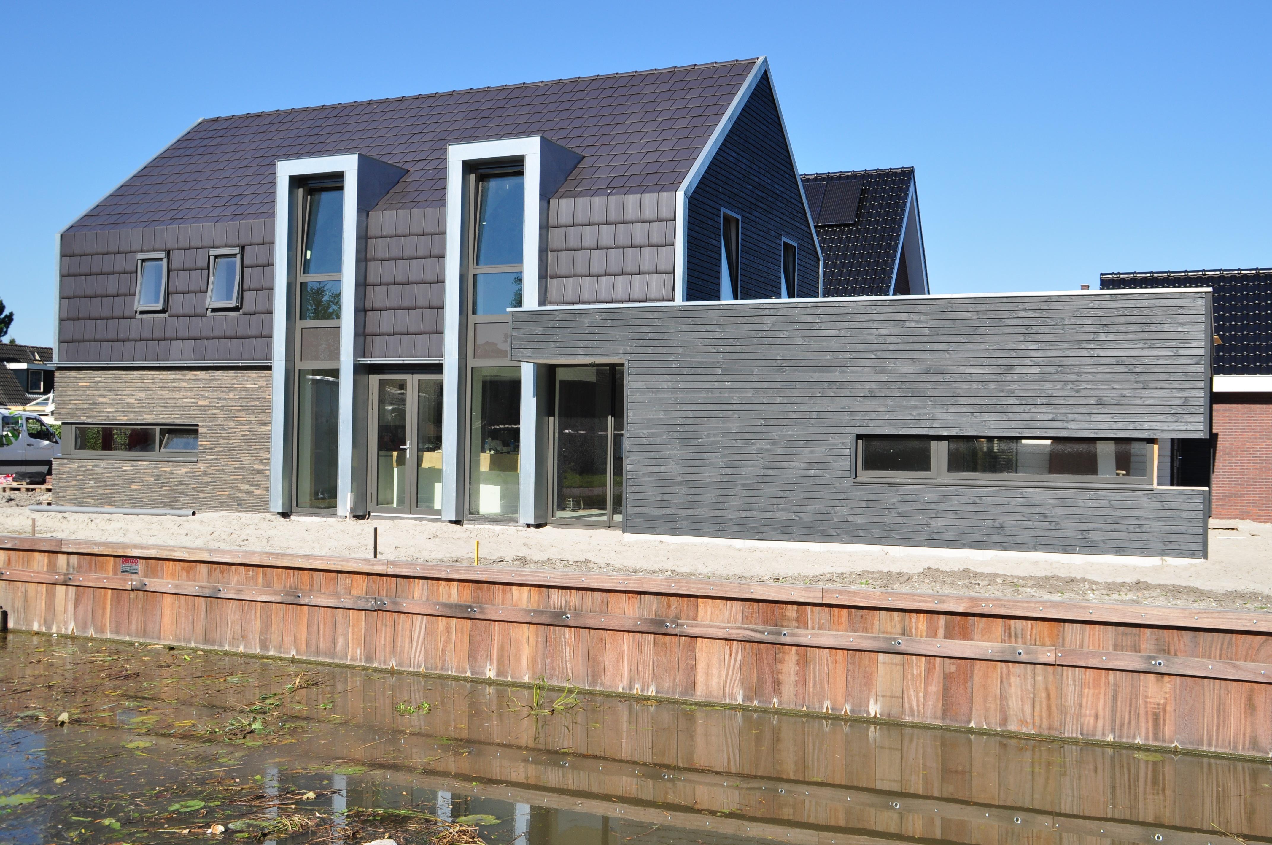 Nieuwbouw moderne woning broek op langedijk moderne woning nico dekker ontwerp bouwkunde - Huis in de moderne ...