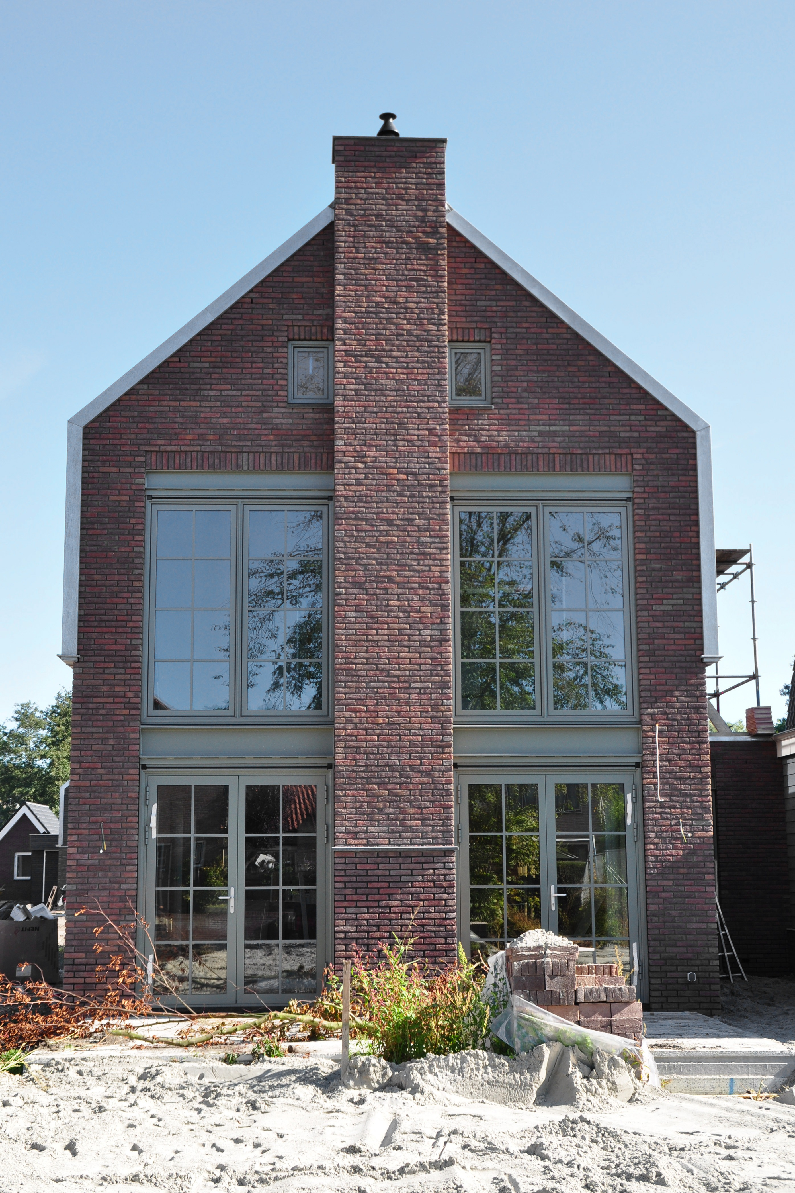 Nieuwbouw pakhuis woning oxhoofdpad langedijk moderne woning nico dekker ontwerp bouwkunde - Ontwerp jaren ...