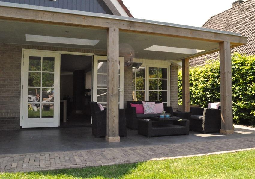 Veranda hornven veranda nico dekker ontwerp bouwkunde - Veranda met muur ...