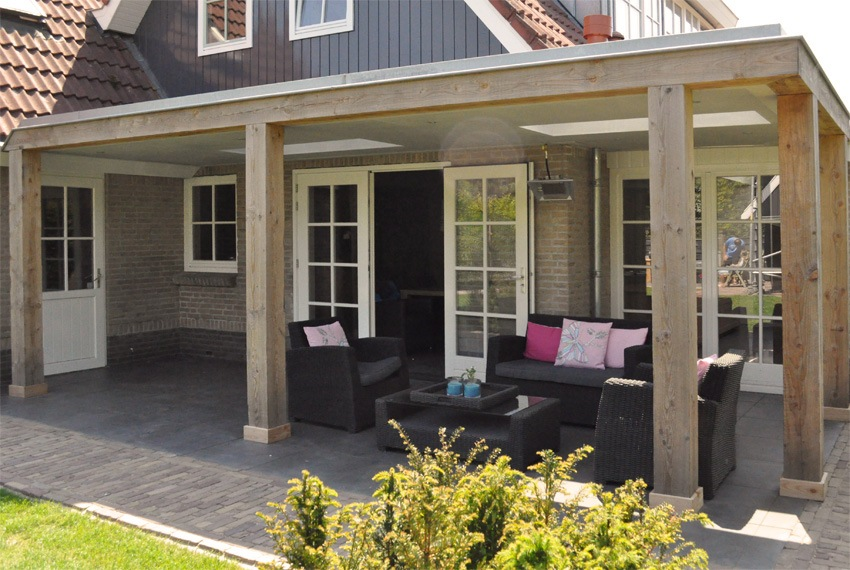 Veranda hornven veranda nico dekker ontwerp bouwkunde - Huis met veranda binnenkomst ...