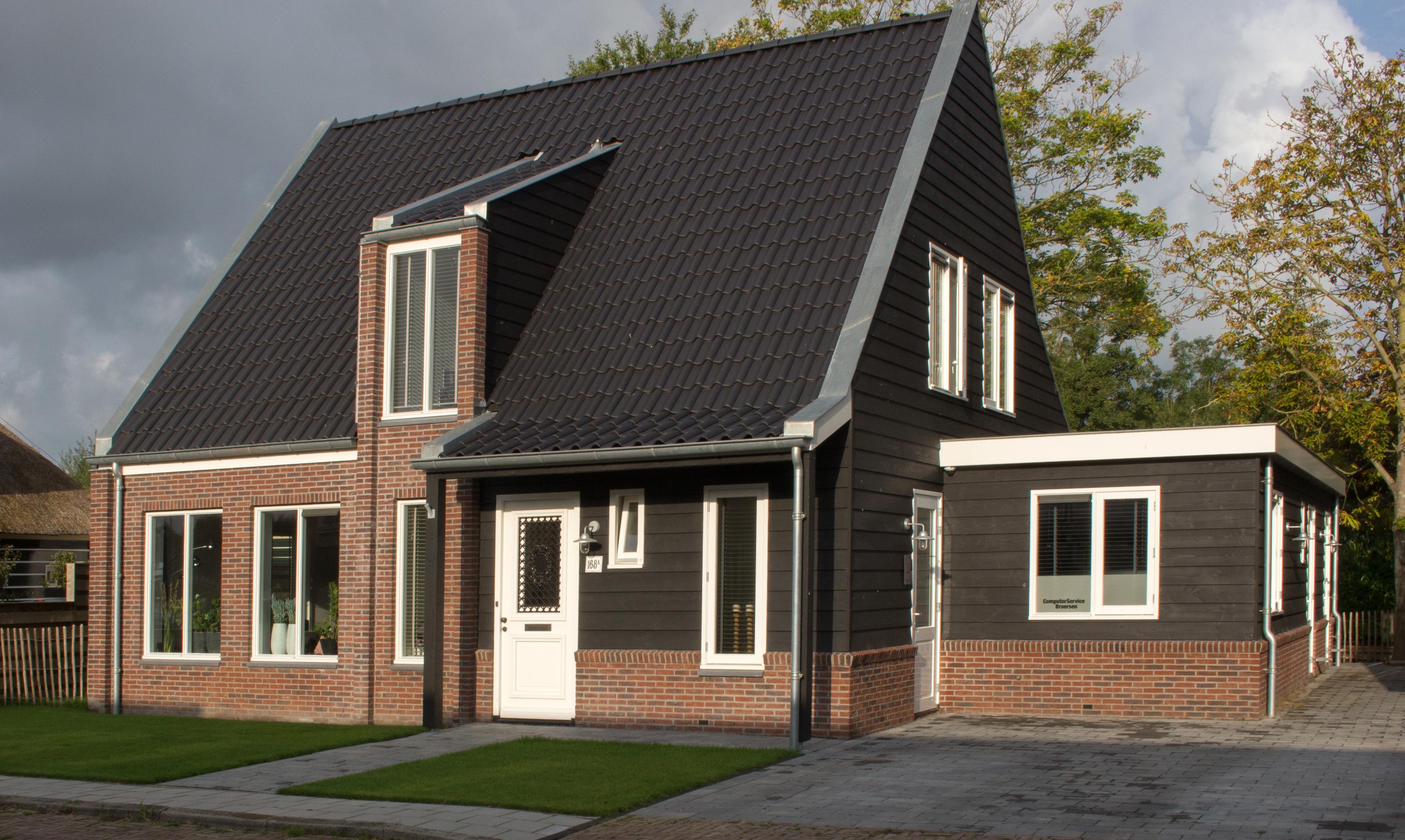 Werkmanshuis nieuwe niedorp schuurwoning nico dekker for Nieuwe woning bouwen