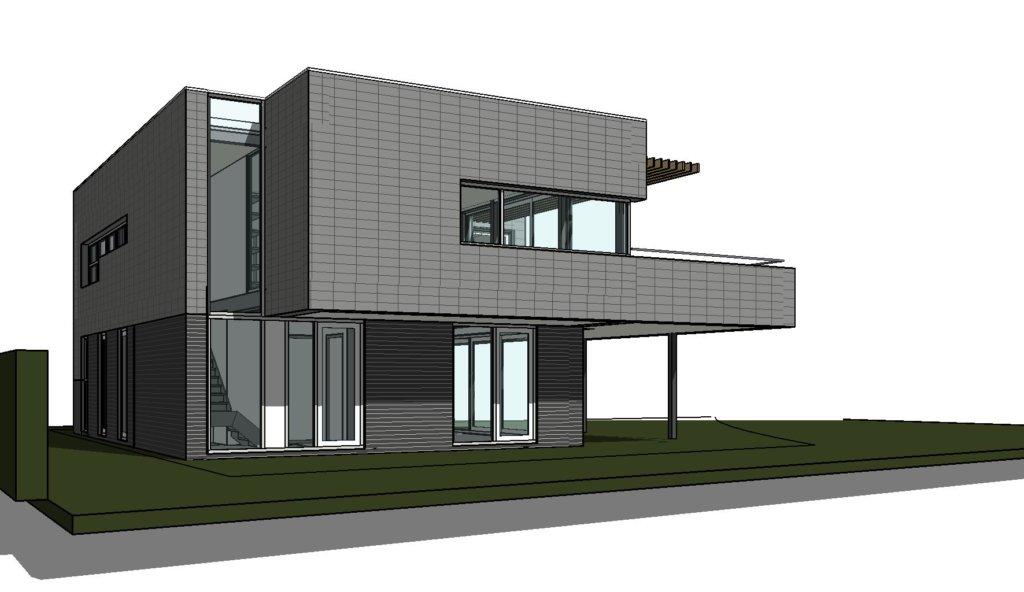 Moderne villa in plan vaart alkmaar moderne woning nico dekker ontwerp bouwkunde - Plan indoor moderne woning ...