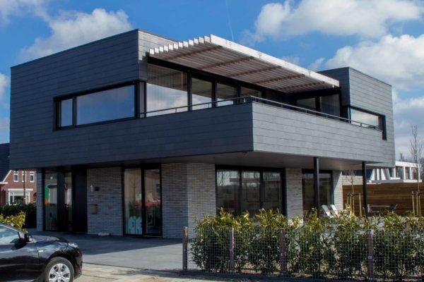 Moderne villa in plan Vaart