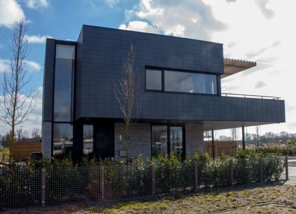 Moderne villa in plan Vaart