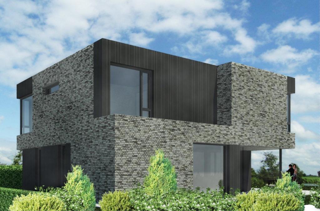 Moderne kubuswoning in plan vaart alkmaar moderne woning for Huizen stijlen