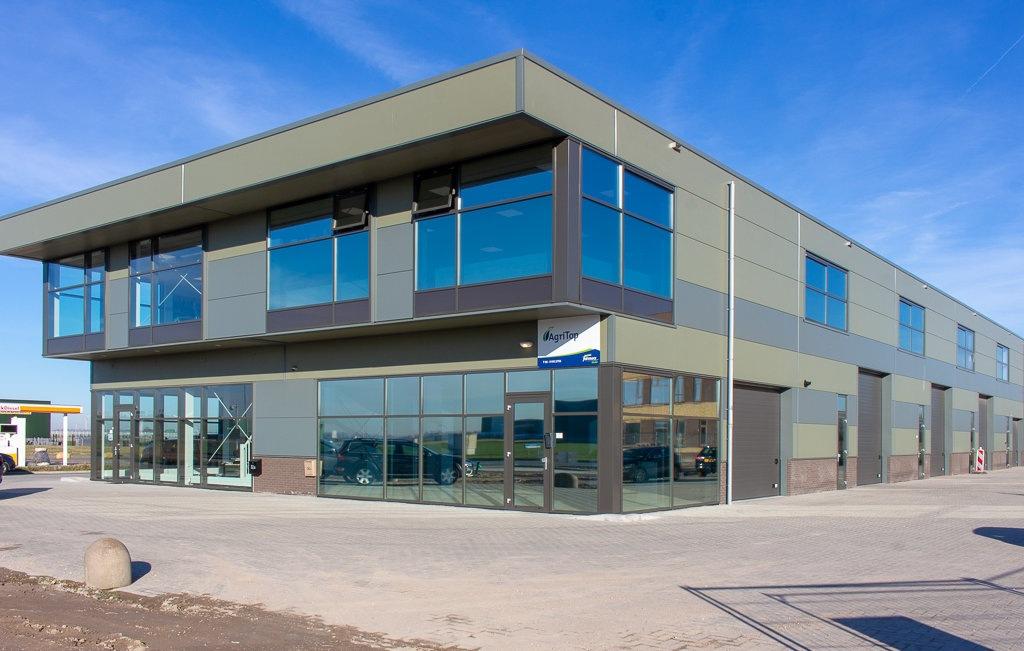 Bedrijfsverzamelgebouw Agriport nieuwbouw