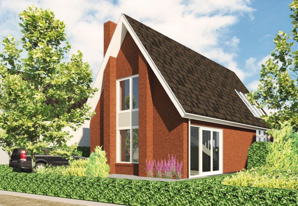 Vrijstaande woning in de verwondering in nieuwveen jaren for Nieuwe woning bouwen
