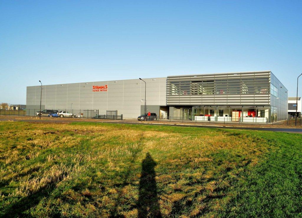 nieuwbouw bedrijfspand Stammis Horeca Verhuur