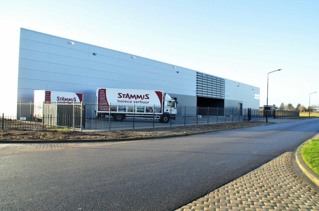 Nieuwbouw bedrijfspand op de de vaandel bedrijfspand for Stammis horeca