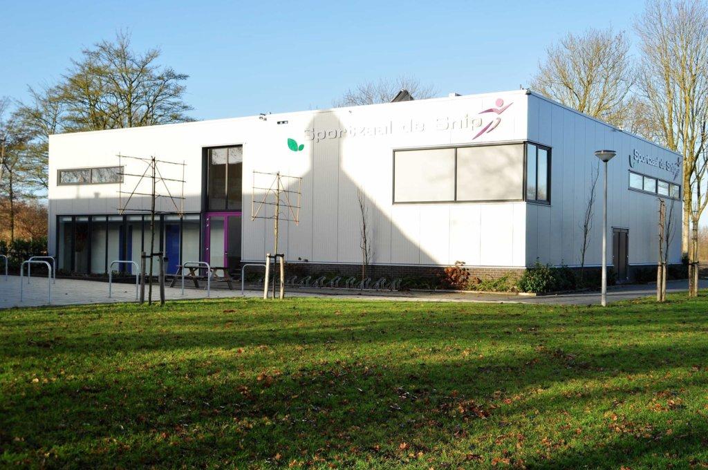 Nieuwbouw sportzaal de snip sporthal nico dekker ontwerp bouwkunde - Hal ingang ontwerp ...