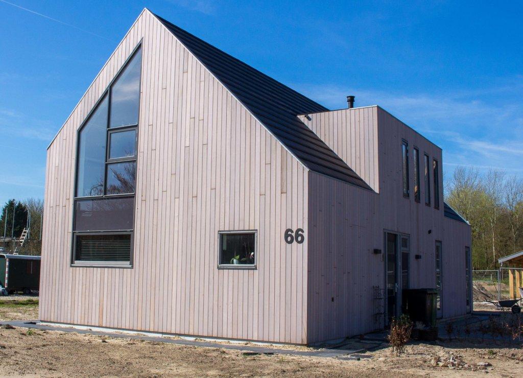 Moderne duinwoning in castricum schuurwoning nico for Aannemer huis bouwen