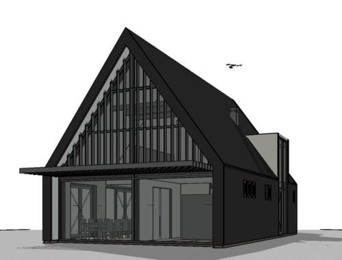 moderne schuurwoning