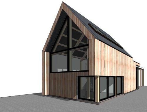 Streekeigen en eigenzinnige woningen onder architectuur - Ontwerp tuinhuis ...