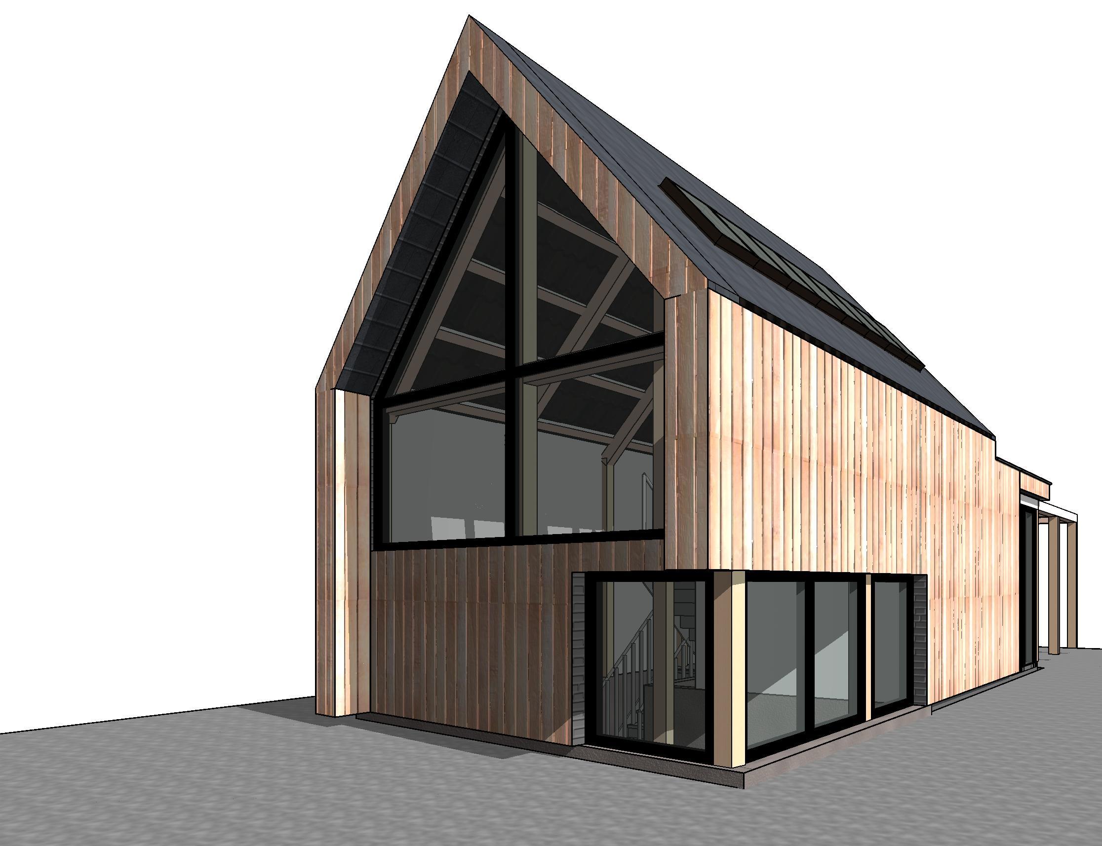 Modern tuinhuis in schagen moderne woning nico dekker ontwerp bouwkunde - Ontwerp tuinhuis ...