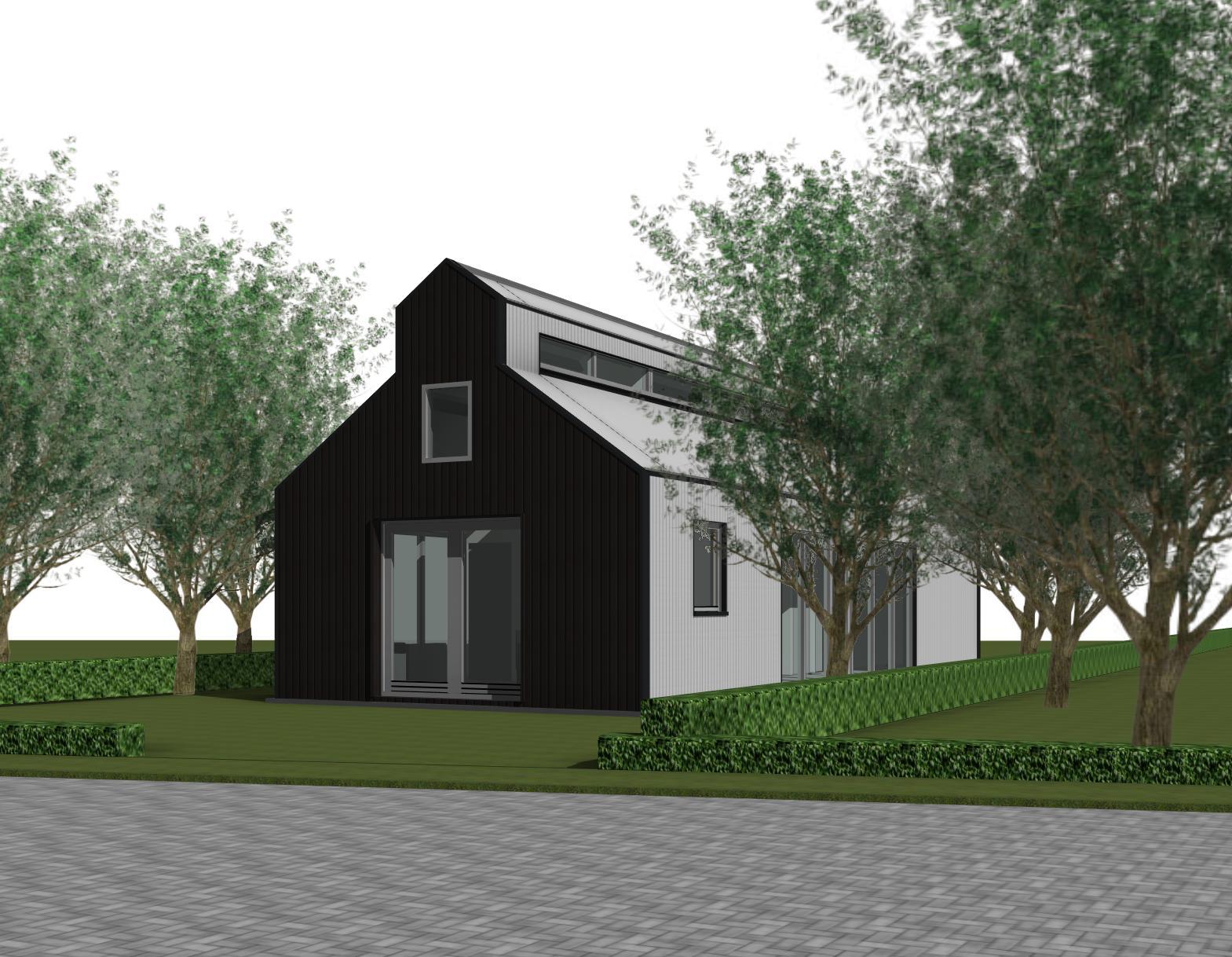 Prairieschuurwoning in waarland schuurwoning nico dekker ontwerp bouwkunde - Moderne buitenkant indeling ...
