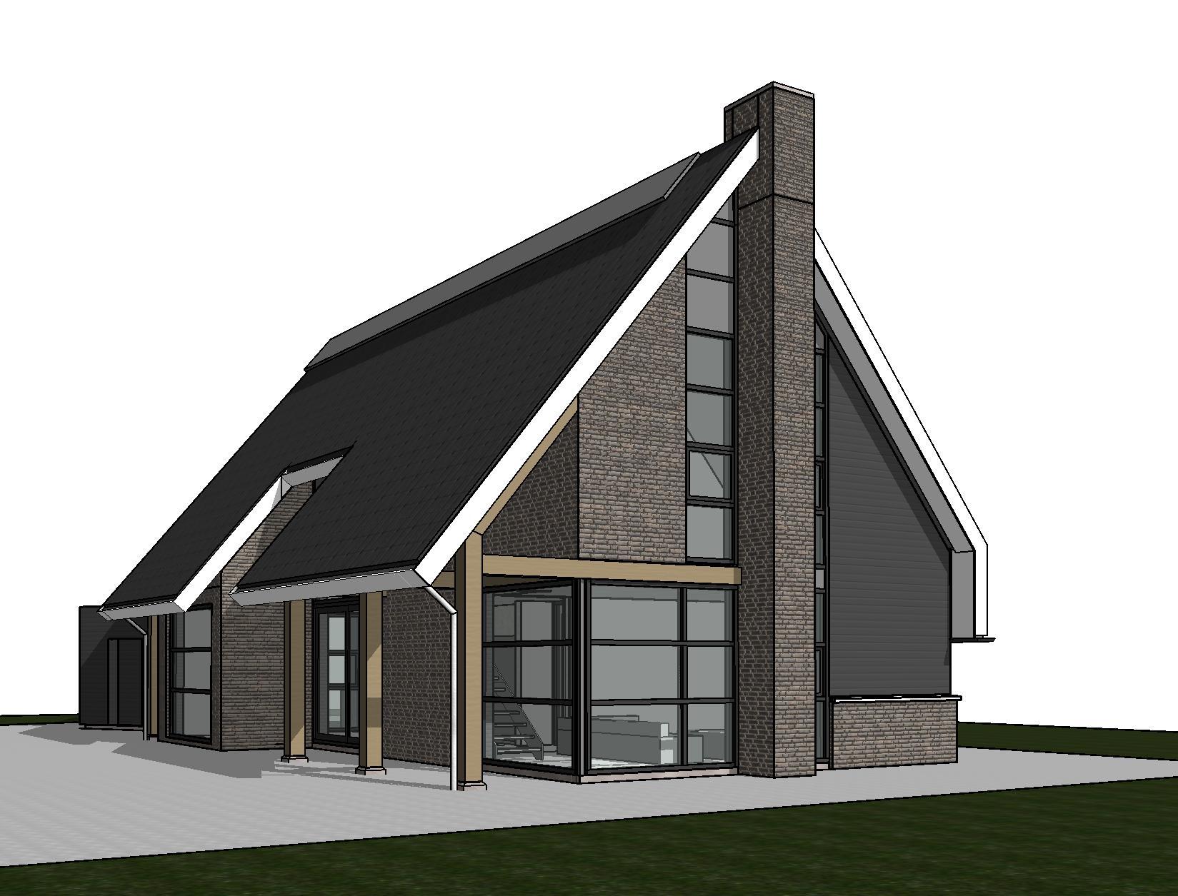 Strakke schuurwoning in boazum schuurwoning nico for Nieuwe woning bouwen