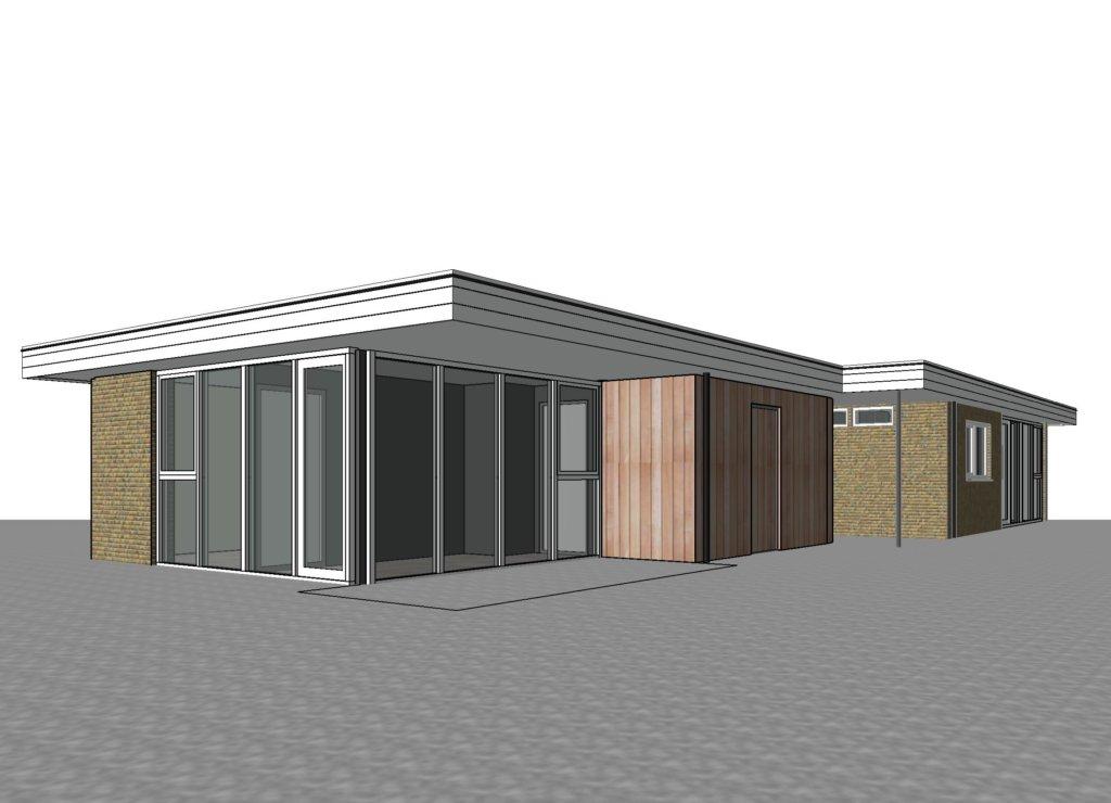 aanbouw bungalow