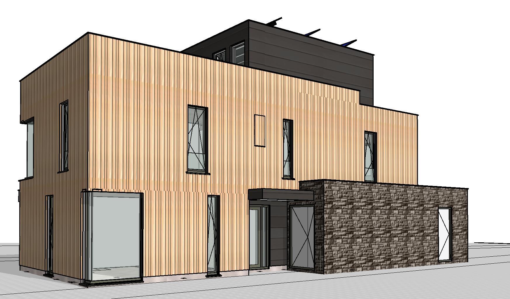 Moderne woning plan vaart alkmaar moderne woning nico dekker ontwerp bouwkunde for Moderne huis foto