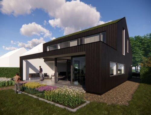 Hereweide Opmeer moderne woning vooraanzicht