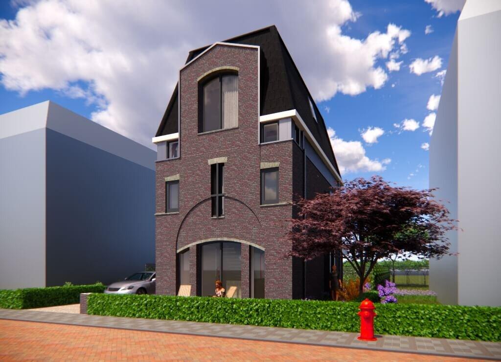 Stadsvilla in Utrecht Voorkant