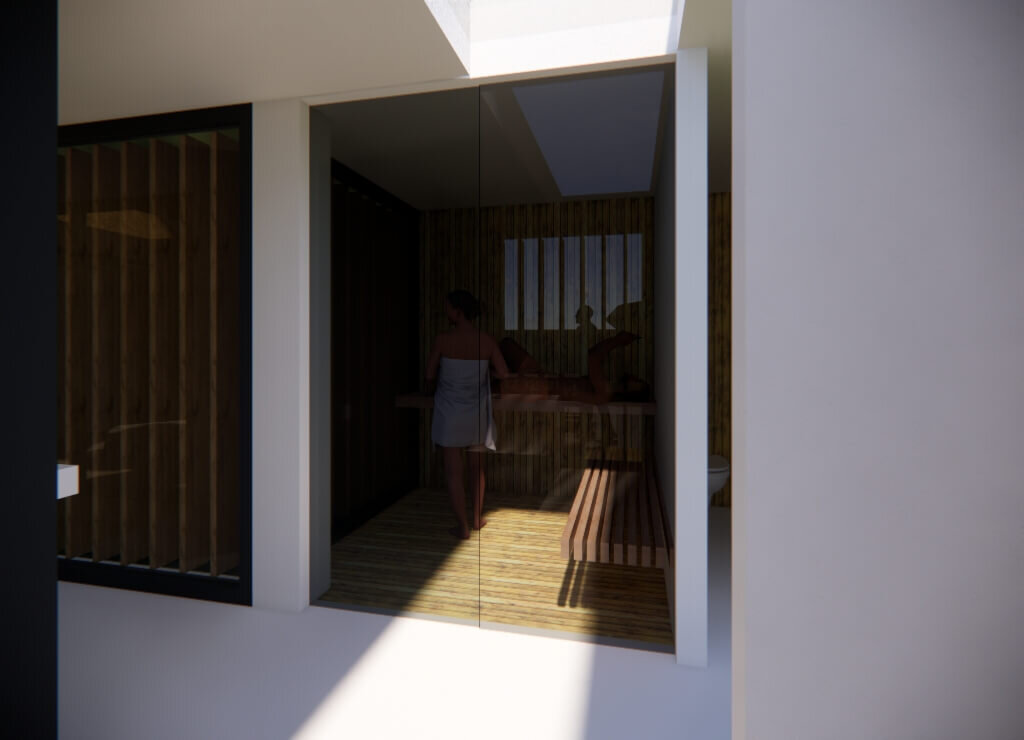 Welness in Koedijk sauna